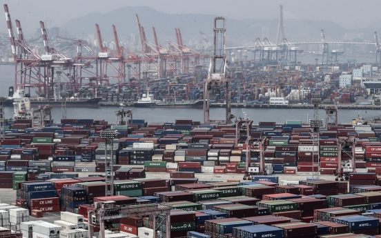 S. Korea's exports spike 27% in first 10 days of Dec.