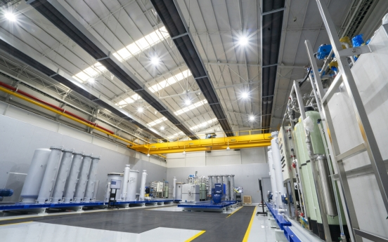 Hyundai Rotem completes manufacturing facility for hydrogen extractors