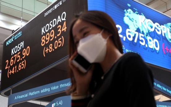 UK becomes biggest net buyer in S. Korean stock market in Nov.