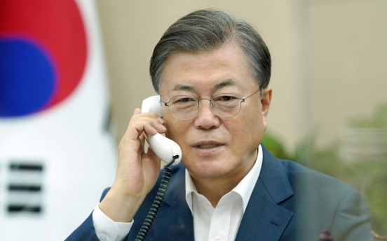 Moon to stress OECD's role in global economic recovery, vow Seoul's contribution