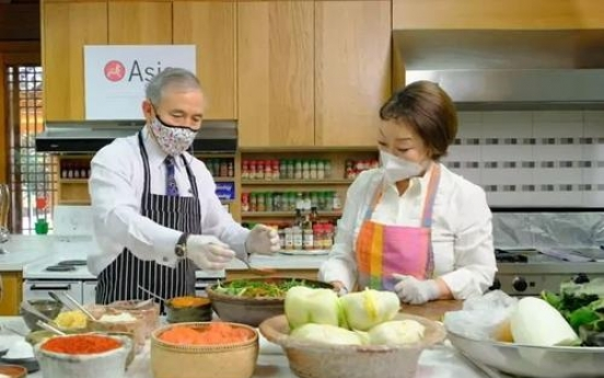 US Amb. Harris says, 'There's nothing more Korean than kimchi'