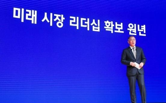 Hyundai Motor Group reshuffles execs in innovative push
