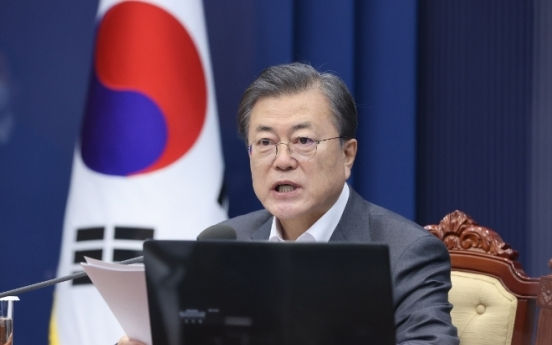 Moon sends congratulatory letter to Biden, expresses hope for cooperation on Korean peace