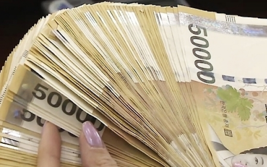 S. Korea's money supply grows at fast rate in Oct.