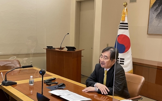 S. Korea-led UN group discusses pandemic responses with disease monitoring board