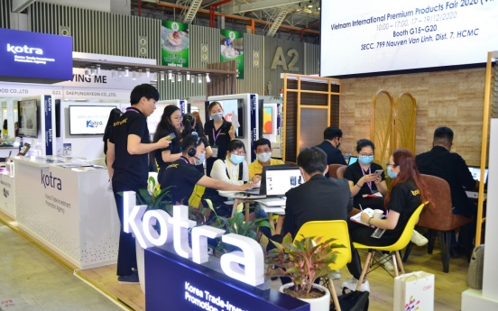 KOTRA fills in for Korean SMEs in Vietnam exhibition amid COVID-19 restrictions