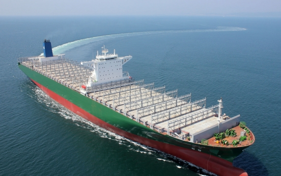Korea Shipbuilding clinches W582b deal from Europe