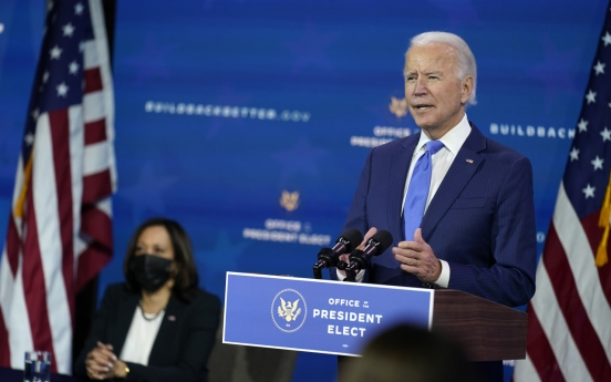 Biden says 'darkest times' in pandemic are ahead, not behind