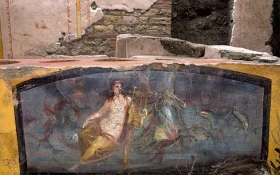 고대 로마 간이식당은 이런 모습…폼페이서 2천년 전 유적 발굴