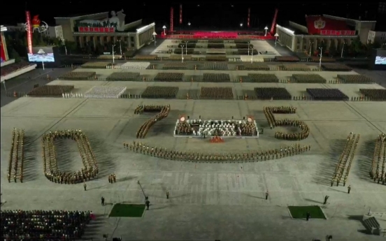 Thousands of people seen in Pyongyang practicing for party congress: 38 North