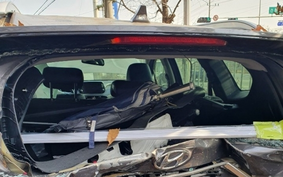 신호 대기 차량 덮친 음주운전 참사…50대 가장 하반신 마비