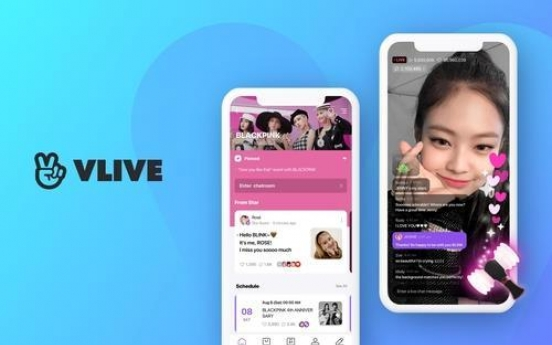 Naver's V Live streaming platform logs 100m global downloads