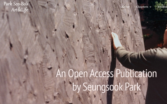 Park Seo-bo biography published online in English