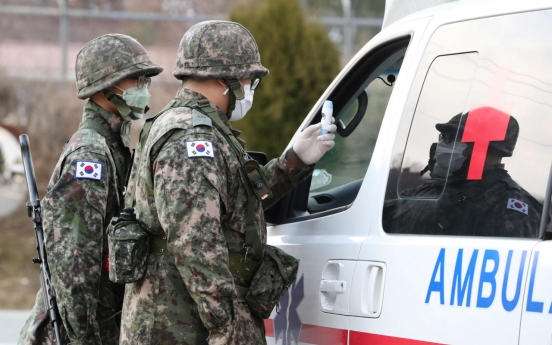 Coronavirus cases in military reach 500 as 4 new patients reported