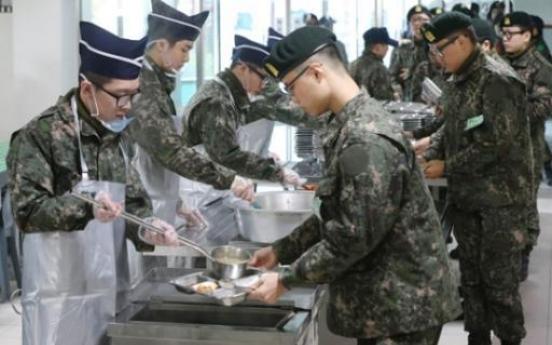Military to add variety to menus at barracks next year