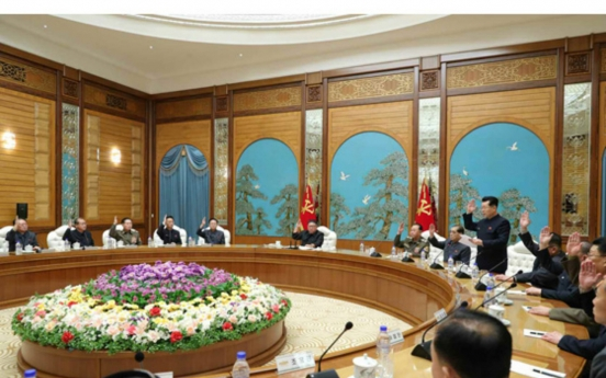 NK leader helms politburo meeting to prepare for party congress in early January