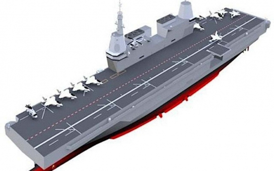Military finalizes requirement plan for light aircraft carrier