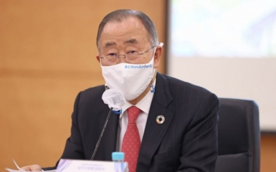 Ex-UN chief Ban calls for rectification of ban on sending anti-N. Korea leaflets