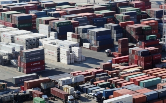 S. Korea's exports fall 5.4% in 2020 on COVID-19 fallout