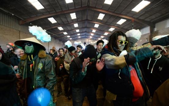 프랑스 '광란의 신년파티' 36시간만에 종료…1천200여명 과태료