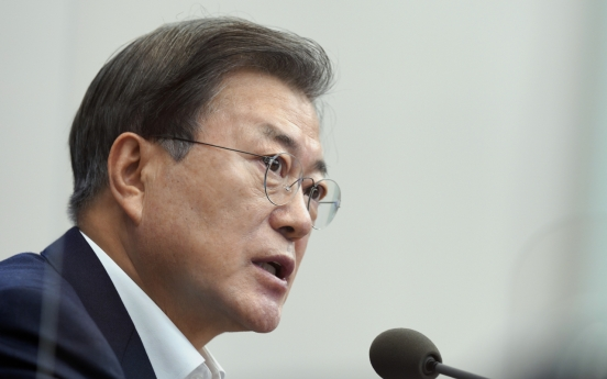 Moon's approval rating drops to lowest point