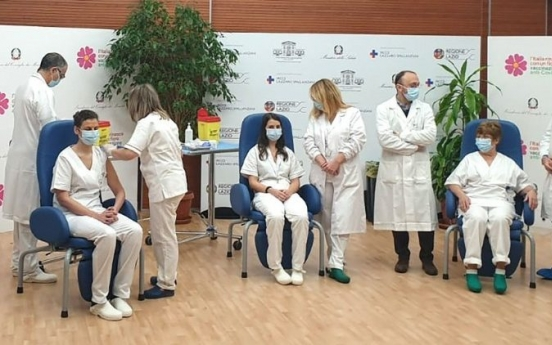 이탈리아 의사, 화이자 백신 1차 접종 6일 후 코로나19 확진