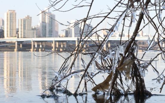 Freezing temperatures sweep S. Korea