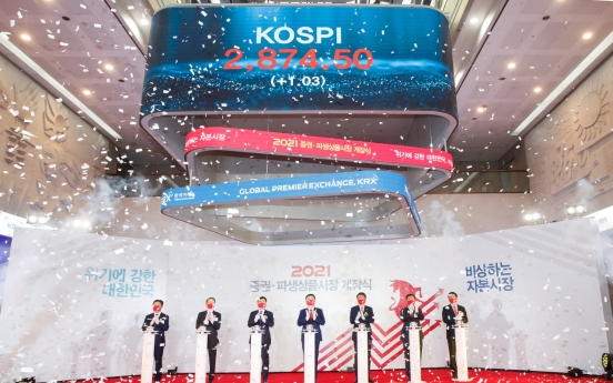 Stock rally nears turning point as Kospi market cap tops W2,000tr