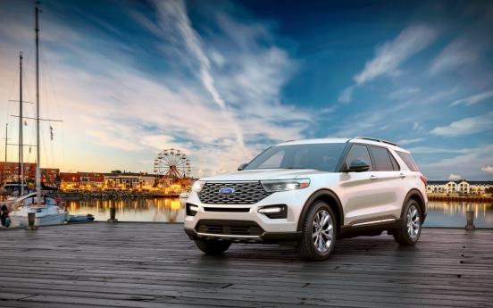 Ford Korea rolls out New Ford Explorer Platinum