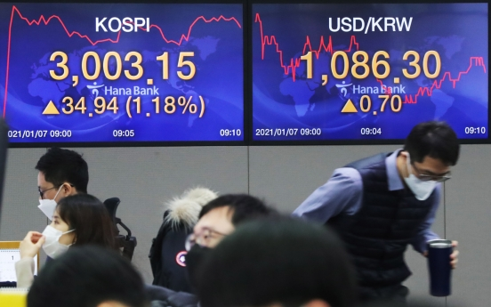Seoul stocks open higher on US gains