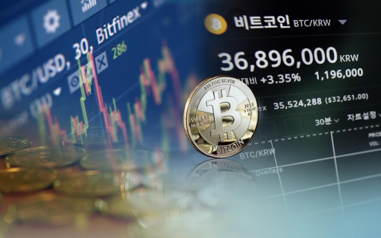 Bitcoin tops W40m in S. Korea for 1st time