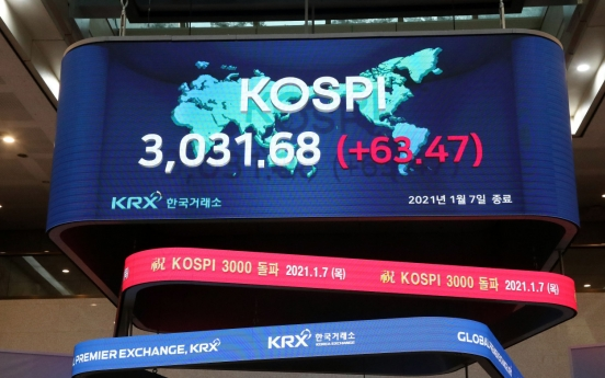 Experts positive on Kospi's rally despite concerns over bubble