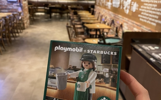 Starbucks Korea rolls out limited Playmobil figurines