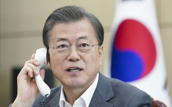 WHO chief seeks S. Korea's continued cooperation against coronavirus: Cheong Wa Dae