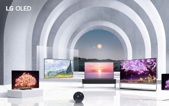 LG unveils bigger, advanced OLED TVs for 2021