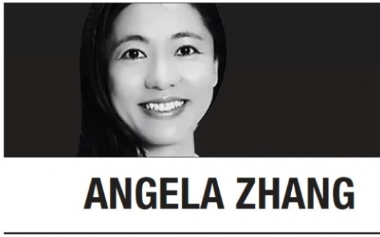 [Angela Zhang] In China, behave or face a campaign