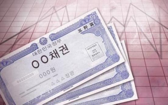 S. Korean bond sales soar 23% in 2020