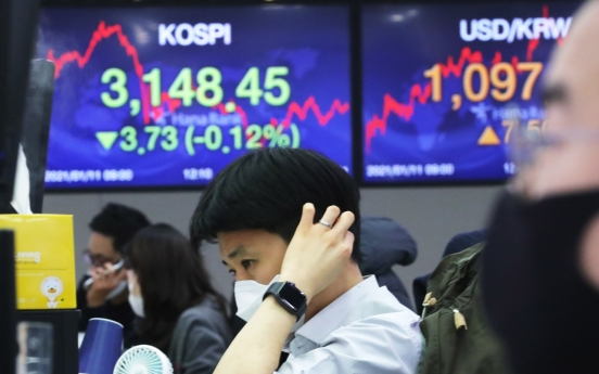 Retail investors' net buying of Kospi stocks hits record high