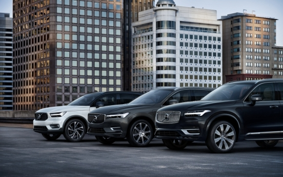 Volvo aims to break sales record this year