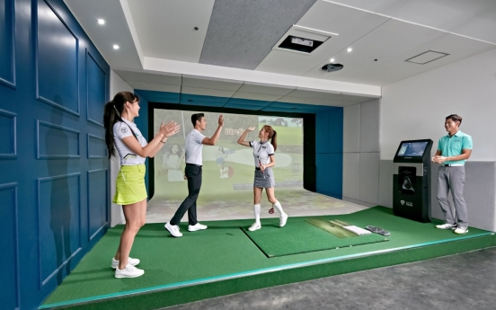 [Eye on Business] The story behind Korea's 'screen golf'