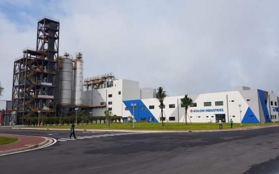 Kolon Industries to expand tire cord plant in Vietnam
