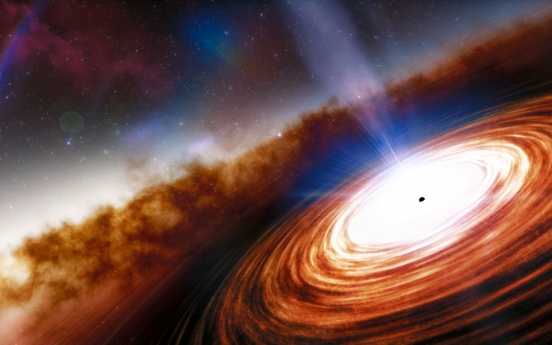 Astronomers find oldest, most distant quasar and black hole in universe