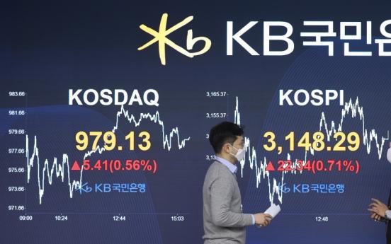 Seoul stocks snap two-day losing streak on investors' bottom-fishing