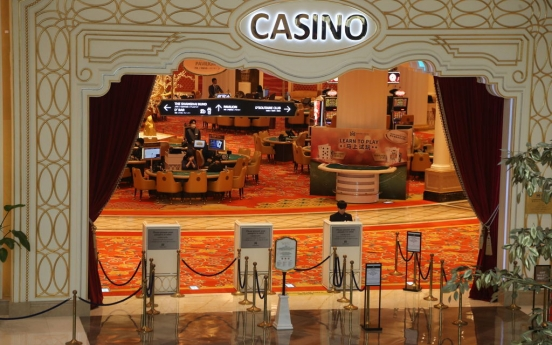 Unidentified cash worth W8.1b discovered at casino during money theft probe