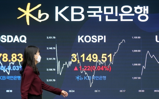 Seoul stocks open nearly flat amid valuation pressure