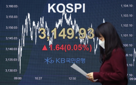 Seoul stocks end almost flat amid valuation pressure