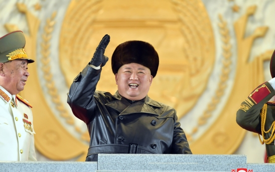[Newsmaker] N. Korea holds military parade, showcases new SLBM