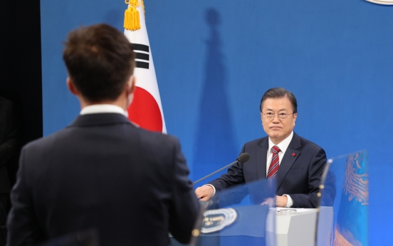 Now not yet time to discuss pardons of two ex-presidents: Moon