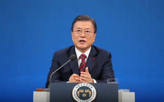Moon says S. Korea will seek dialogue with Japan over solution to wartime sexual slavery