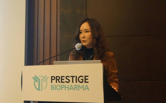 Singapore's Prestige Biopharma eyes Feb. IPO on Kospi